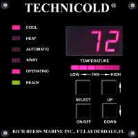 TECHNICOLD Yacht Marine Air Conditioning FX Digital Environmental Controls