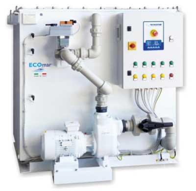 ECOmar Waste Water Treatment System