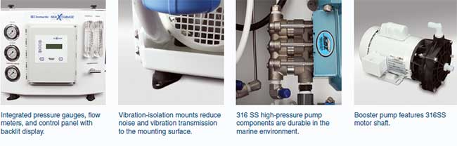 SX SEAWATER SYSTEMS FEATURES