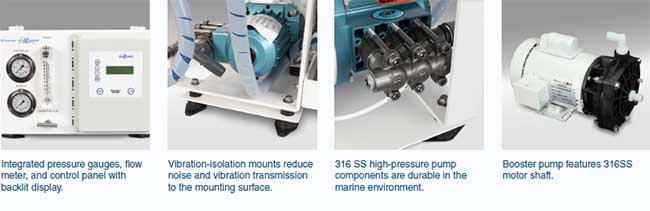 SE SEAWATER SYSTEMS FEATURES